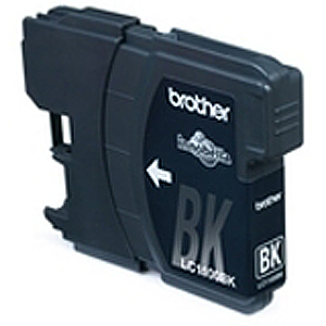 Brother LC1100BKBP2 - Pack de 2 - noir - original - LC1100BKBP2