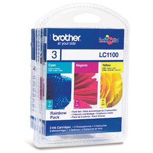Brother LC1100RBWBP - Jaune, cyan, magenta - - LC1100RBWBP