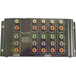1x4 Component W/ Audio Distribution Amp / Mfr. No.: 40-937b