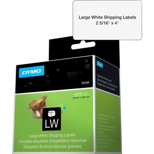 "DYMO® LabelWriter® Large Shipping Labels 2-5/16"" x 4"" White 300/box"
