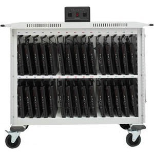 Storage Cart 30u Laptop Power Mgr Front/Rear Acess Door Cust Pays / Mfr. No.: Lap30ulv-Ct