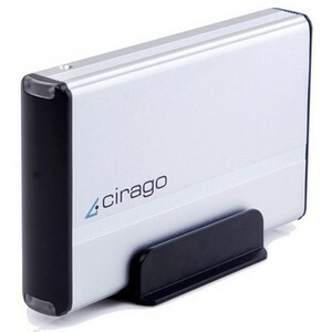 Cirago Cst4500 500gb External Storage USB2.0 3.5in / Mfr. no.: CST4500