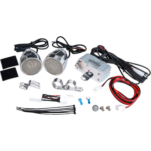 300 Watts Motorcycle/Atv Mount Amplifier W/Dual Handle-Bar Mou / Mfr. No.: Plmca60