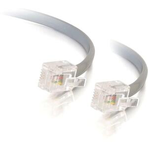 7ft Rj11 6p4c Straight Thru Modular Cable / Mfr. no.: 02971