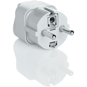Grounded Adapter Plug Europe Mid East Africa Asia Caribbean / Mfr. No.: Nwg1c