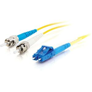 7m Simplex Smf Lc/St 9/125 Yellow Patch Cable / Mfr. no.: 34718