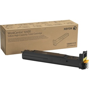 Yellow Toner Cartridge For Wc6400 High Capacity 14000 Page / Mfr. No.: 106r01319