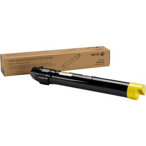 Yellow Toner Cartridge For Phaser 7500 Std Cap / Mfr. No.: 106r01435
