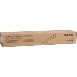 Cyan Toner Cartridge Phaser 7500 High Capacity / Mfr. No.: 106r01436