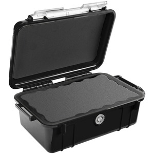 1050 Micro Case Black W/Clear Lid Liner 6.31x3.68x2.75 / Mfr. No.: 1050-025-100