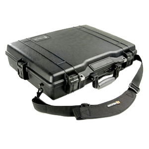 1495cc1 Notebook Hard Case Black Fitted Tray Up To 17in Laptop / Mfr. No.: 1495-003-110
