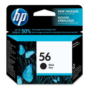 HP Inkjet Cartridge C6656AN #56 Black
