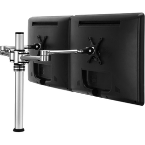 Visidec Articulated Armdouble To 24in LCDs Desk Mount Polishe / Mfr. No.: Vf-At-D/TAA