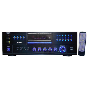 3000 Watt Am-Fm Receiver W/ Built-In DVD/Mp3/USB / Mfr. No.: Pd3000a