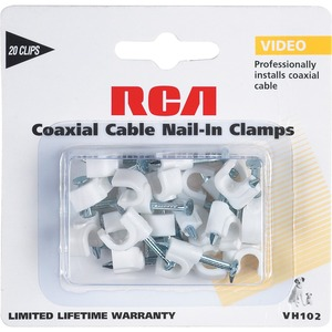 RCA Coaxial Nail In Clamps / Mfr. No.: Vh102x