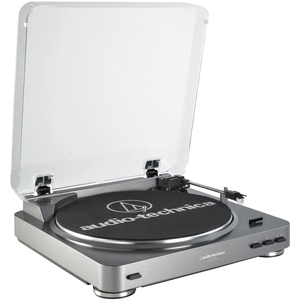 Audio Technica Turntable Fully Atomatic Belt Driv / Mfr. No.: At-Lp60