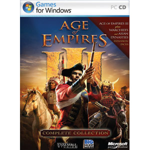 Age Of Empires Iii Cmplt Col Win32 Na DVD Box Cd