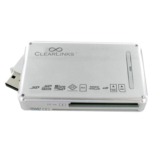 Clearlink 63-In-1 USB 2.0 Card Reader / Mfr. No.: Cl-Uc-200