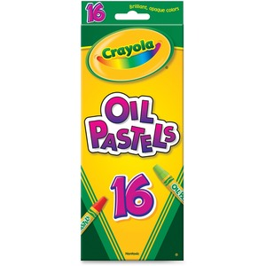 Crayola® Oil Pastels Assorted Colours 16/pkg