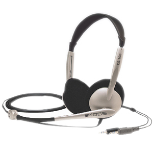 Koss Noise Cancellation Binaural Headset with Microphone / Mfr. No.: Cs100