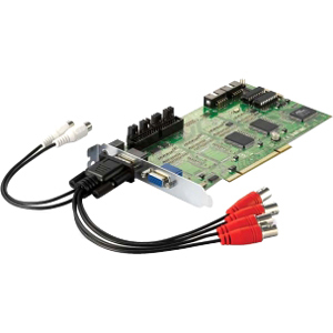 Level1 4port Analog Camera Capture Card / Mfr. No.: Fcs-8005