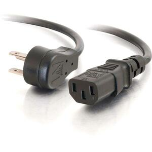 1.5ft Universal Power Cord For Flat Panel 18awg 5-15p To C13 / Mfr. No.: 27900