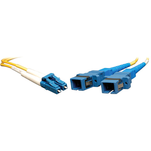 1ft Duplex Smf Lc-Male To Sc-Female 8.3/125 Cable Adapter / Mfr. No.: N458-001-9