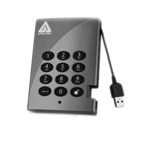 256gb Sshd USB Padlock Secur 256bit Aes Encrypted Portable D