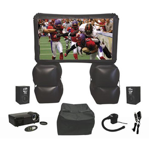 6ft Inflatable Proj Screen Kit W/Projector Speaker and Carry Bag / Mfr. No.: Xl-Pro