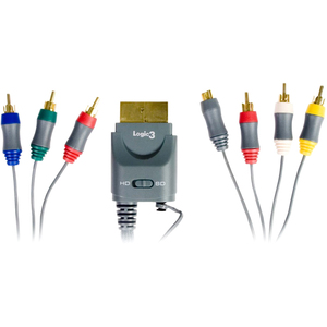 Logic3 Component/Composite Audio/Video Cable