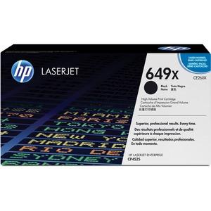 HP LaserJet Laser Cartridge High Yield #649X Black
