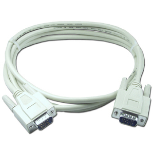 Qvs 6ft VGA Hd15 Male To Male Video Cable / Mfr. No.: Cc388-06