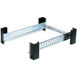 Innovation First Rackmount Rails 3u Generic Non-Sliding Fits 19in 4post Rack / Mfr. No.: 3ukit-109