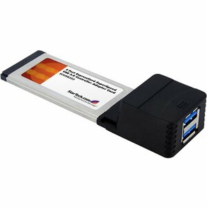 2port USB 3.0 Expresscard Adapter Card / Mfr. No.: EcUSB3s2