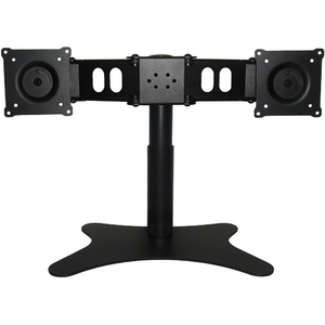 Dual Monitor Flex Stand Up To 19in Monitor Preassembled TAA 22lb / Mfr. No.: Ds-219stb