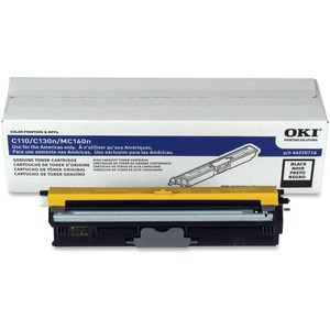 Black Toner Cartridge Type D1 For C110/C130n/Mc160 Mfp 2.5k Y / Mfr. no.: 44250716