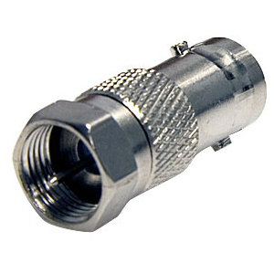 Coaxial BNC To F-Type Adapter / Mfr. No.: BNCcoaxfm