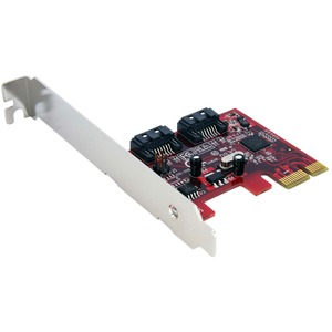 2port SATA Revision 3.0 PCIe Controller Card / Mfr. No.: Pexsat32