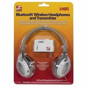 Zoom 4383 Wireless Stereo Headset