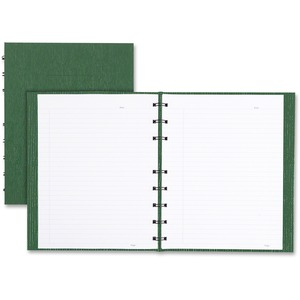 "Blueline® Ecologix NotePro Notebook 9-1/4x7-1/4"" 150 pgs Green"