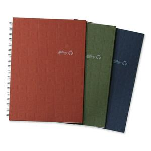 "Hilroy Enviro-Plus  Recycled Notebook 9-1/2x6"" 200 pgs Assorted Colours"