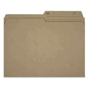 Hilroy Enviro-Plus Reversible File Folder Letter 100/box