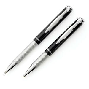 Zebra Tele-Scopic Retractable Ball Point Pen Black