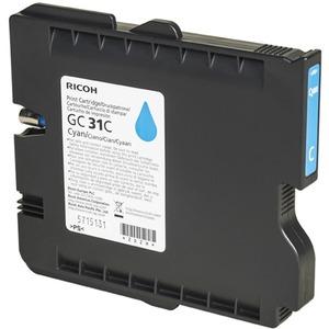 Encre Ricoh Cyan - GC-31C - 405689 pour GX e3300N/e3350N - 1 000 pages - 405689