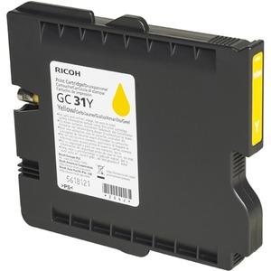 Encre Ricoh Jaune - GC-31Y - 405691 pour GX e3300N/e3350N - 1 000 pages - 405691
