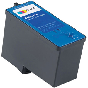 Encre Dell Couleur 592-10227/CH884/GR277 pour 966/968 - 500 pages - CH884