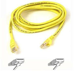 3ft Cat5e Yellow Patch Cord Snagless Rj45m/Rj45m ROHS / Mfr. No.: A3l791-03-Ylw-S