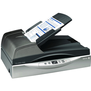 Xerox DocuMate 3640 Flatbed Scanner / Mfr. No.: XDM36405M-WU/VP