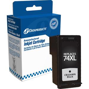 Dataproducts® Inkjet Cartridge High Yield (HP CB336WC, #74XL) Black