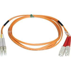 2m Duplex Mmf Cable Lc/Sc 50/125 Fiber Optic/ Fibre Chann / Mfr. No.: N516-02m